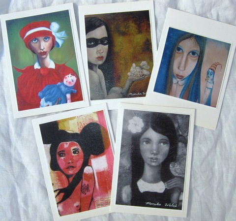Edgy Portrait 1 ($25 per pack of 5)