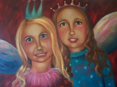 Fairy Princesses -  SOLD (commission)